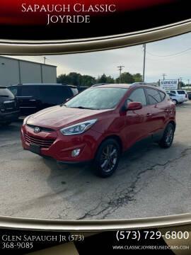 2014 Hyundai Tucson for sale at Sapaugh Classic Joyride in Salem MO