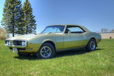 1968 Pontiac Firebird for sale at Hooked On Classics in Watertown MN