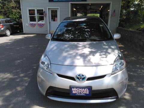 2015 Toyota Prius for sale at MICHAEL MOTORS in Farmington ME