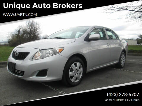 2009 Toyota Corolla for sale at Unique Auto Brokers in Kingsport TN