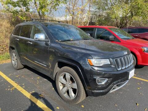 2014 Jeep Grand Cherokee for sale at NEUVILLE CHEVY BUICK GMC in Waupaca WI