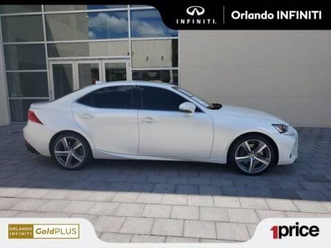 2018 Lexus IS 300 for sale at Orlando Infiniti in Orlando FL