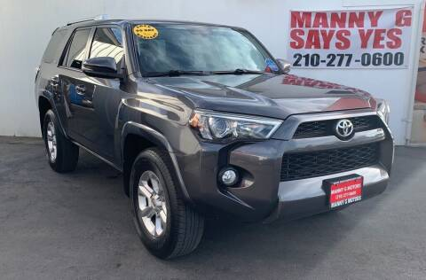 2014 Toyota 4Runner for sale at Manny G Motors in San Antonio TX