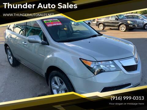 2012 Acura MDX for sale at Thunder Auto Sales in Sacramento CA