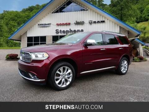 2019 Dodge Durango for sale at Stephens Auto Center of Beckley in Beckley WV