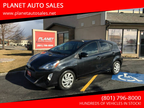 2015 Toyota Prius c for sale at PLANET AUTO SALES in Lindon UT