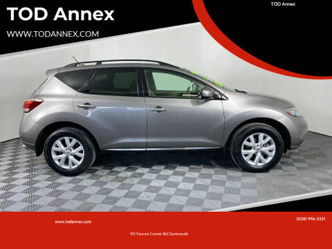 2011 Nissan Murano for sale at TOD Annex in North Dartmouth MA