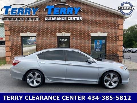 2017 Honda Accord for sale at Terry Clearance Center in Lynchburg VA