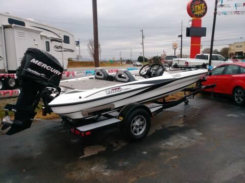 2008 Triton tr186 for sale at AUTOPLEX 528 LLC in Huntsville AL