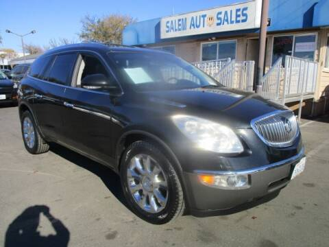 2012 Buick Enclave for sale at Salem Auto Sales in Sacramento CA