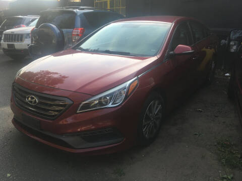 2015 Hyundai Sonata for sale at MELILLO MOTORS INC in North Haven CT
