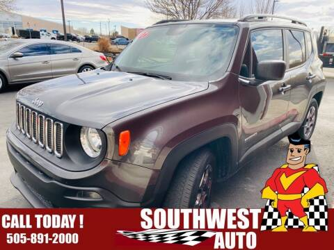 2017 Jeep Renegade for sale at SOUTHWEST AUTO in Albuquerque NM
