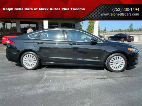 2015 Ford Fusion Hybrid for sale at Ralph Sells Cars at Maxx Autos Plus Tacoma in Tacoma WA