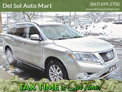 2013 Nissan Pathfinder for sale at Del Sol Auto Mart in Des Plaines IL