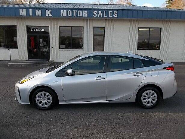2019 Toyota Prius for sale at MINK MOTOR SALES INC in Galax VA