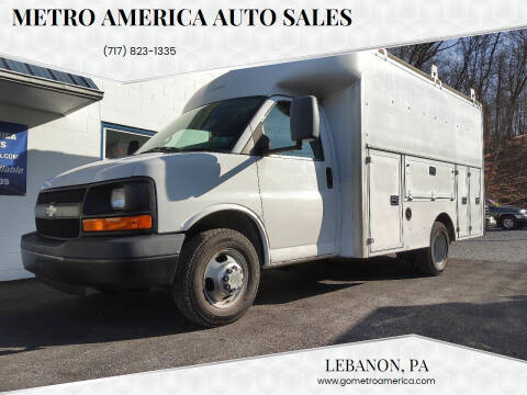 2008 Chevrolet Express Cutaway for sale at METRO AMERICA AUTO SALES of Lebanon in Lebanon PA