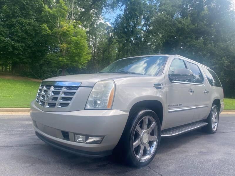 2008 Cadillac Escalade ESV for sale at Top Notch Luxury Motors in Decatur GA