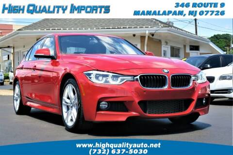 2017 BMW 3 Series for sale at High Quality Imports in Manalapan NJ