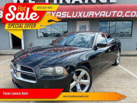 2012 Dodge Charger for sale at Texas Luxury Auto in Cedar Hill TX