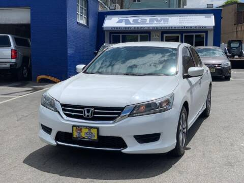 2013 Honda Accord for sale at AGM AUTO SALES in Malden MA