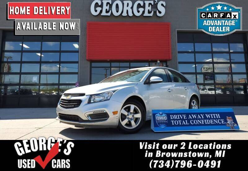 2015 Chevrolet Cruze for sale at George's Used Cars - Pennsylvania & Allen in Brownstown MI