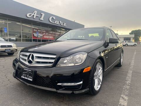 2012 Mercedes-Benz C-Class for sale at A1 Carz, Inc in Sacramento CA