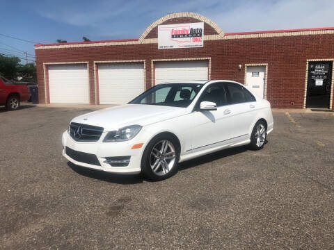 2014 Mercedes-Benz C-Class for sale at Family Auto Finance OKC LLC in Oklahoma City OK
