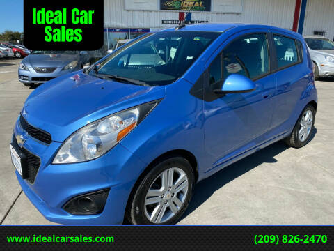 2013 Chevrolet Spark for sale at Ideal Car Sales in Los Banos CA