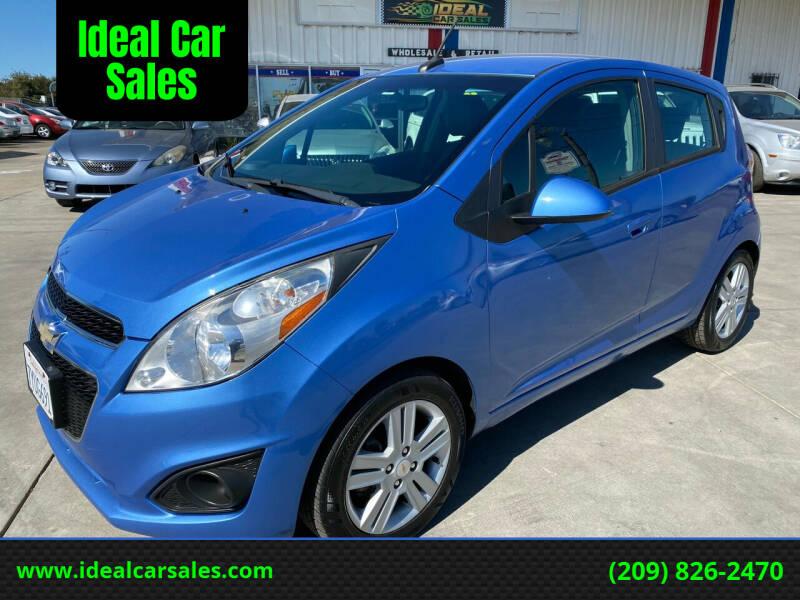 2013 Chevrolet Spark for sale at Ideal Car Sales in Los Banos CA