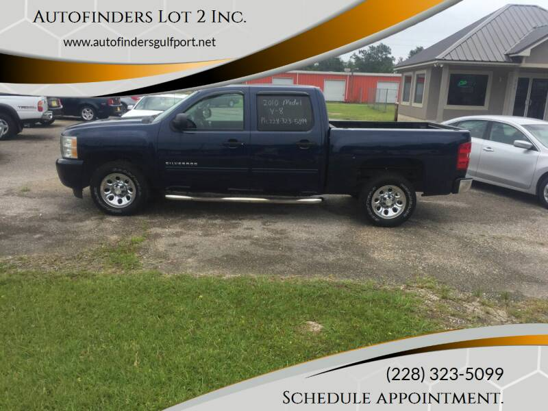 2010 Chevrolet Silverado 1500 for sale at Autofinders in Gulfport MS