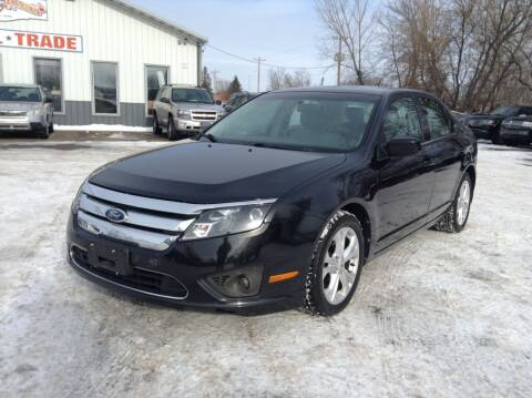 2012 Ford Fusion for sale at Steves Auto Sales in Cambridge MN