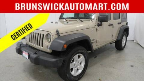 2017 Jeep Wrangler Unlimited for sale at Brunswick Auto Mart in Brunswick OH