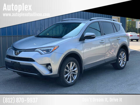 2017 Toyota RAV4 for sale at Autoplex in Sullivan IN