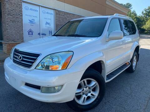 2007 Lexus GX 470 for sale at Gwinnett Luxury Motors in Buford GA