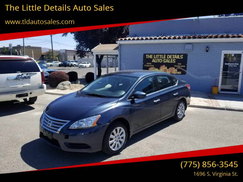 2014 Nissan Sentra for sale at The Little Details Auto Sales in Reno NV
