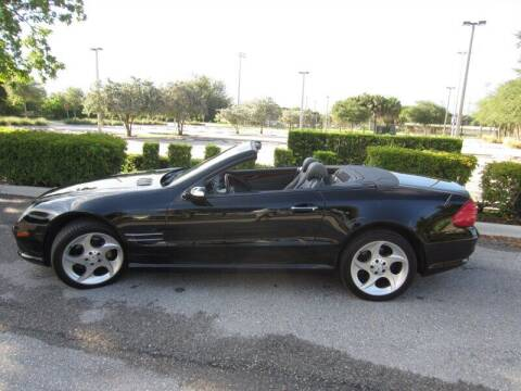 2005 Mercedes-Benz SL-Class for sale at Auto Sport Group in Delray Beach FL