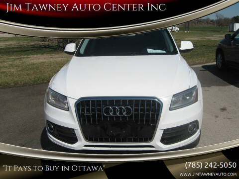 2013 Audi Q5 for sale at Jim Tawney Auto Center Inc in Ottawa KS