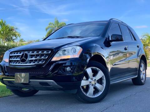 2011 Mercedes-Benz M-Class for sale at HIGH PERFORMANCE MOTORS in Hollywood FL