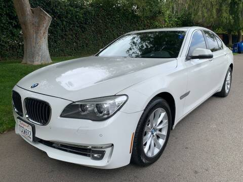 2013 BMW 7 Series for sale at Car Lanes LA in Glendale CA