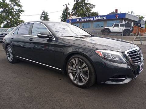 2015 Mercedes-Benz S-Class for sale at All American Motors in Tacoma WA