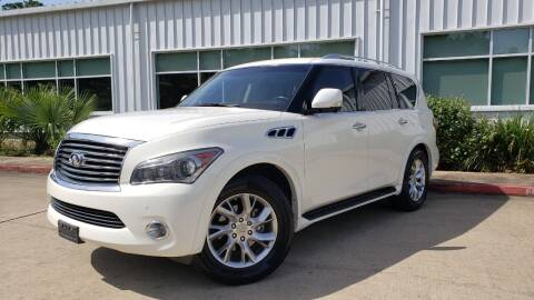 2011 Infiniti QX56 for sale at Houston Auto Preowned in Houston TX