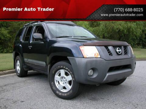 2006 Nissan Xterra for sale at Premier Auto Trader in Alpharetta GA