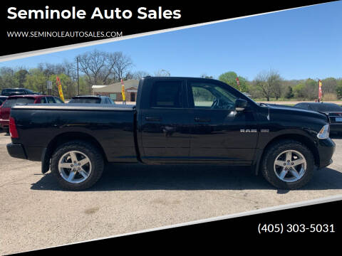 2009 Dodge Ram Pickup 1500 for sale at Seminole Auto Sales in Seminole OK