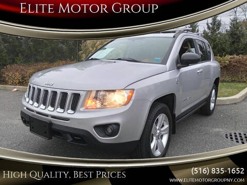 2012 Jeep Compass for sale at Elite Motor Group in Farmingdale NY