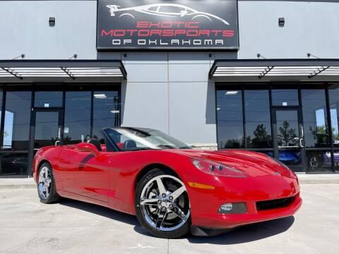 2005 Chevrolet Corvette for sale at Exotic Motorsports of Oklahoma in Edmond OK