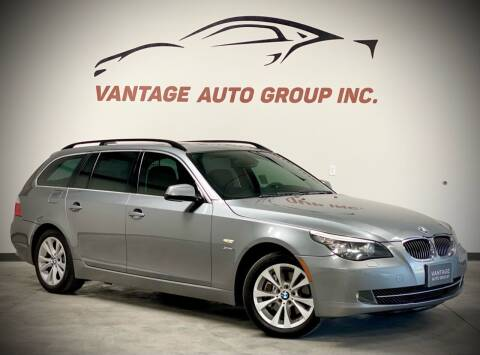 2010 BMW 5 Series for sale at Vantage Auto Group Inc in Fresno CA
