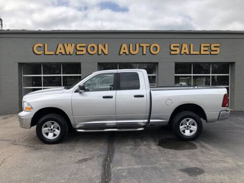 2009 Dodge Ram Pickup 1500 for sale at Clawson Auto Sales in Clawson MI
