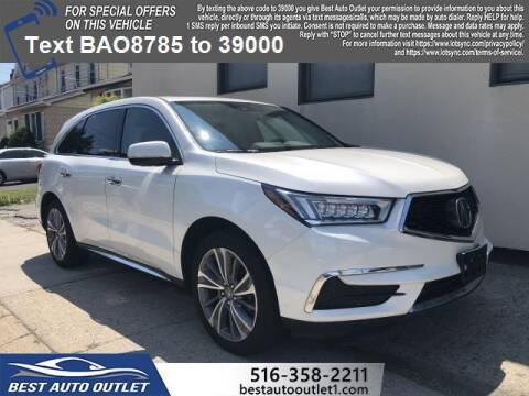 2018 Acura MDX for sale at Best Auto Outlet in Floral Park NY