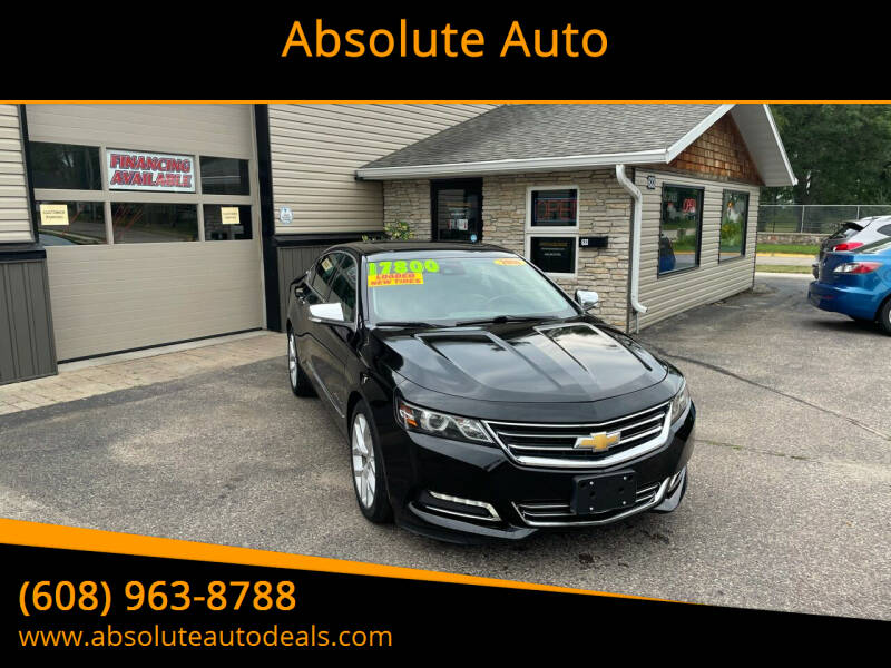 2014 Chevrolet Impala for sale at Absolute Auto in Baraboo WI