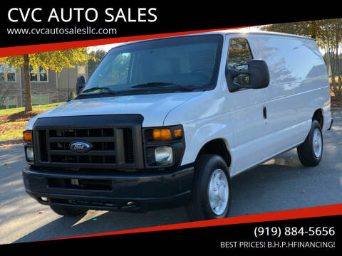 2009 Ford E-Series Cargo for sale at CVC AUTO SALES in Durham NC
